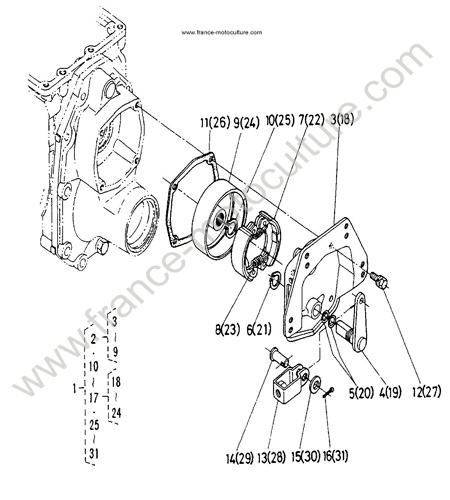 eclate piece kubota 96 caprice engine diagram schematic