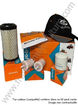 Filtres Carburant Huile Kubota B2530 Kit Filtre Air